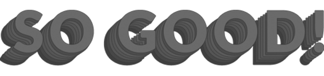 So Good Digital Logo